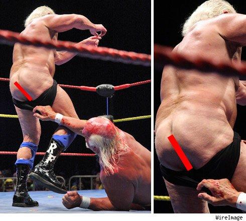 Hulk Hogan and Ric Flair