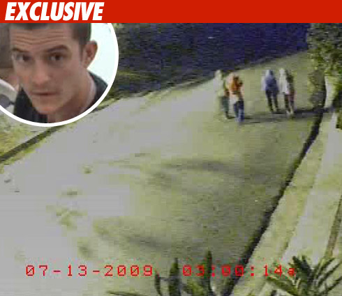 Hollywood hills burglar bunch video