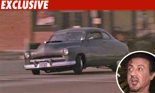 Sly Stallone Strikes Over Stolen 'Cobra' Car