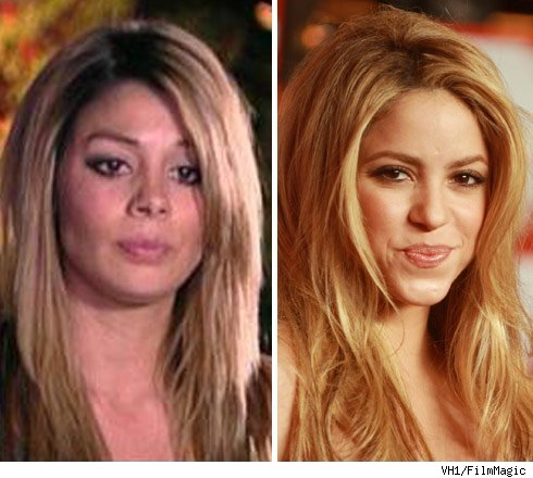 Jaimee Grubbs and Shakira