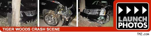 Tiger Woods Car Crash