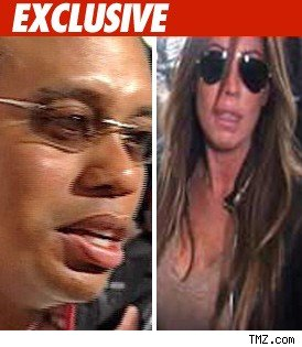 Tiger Woods and Rachel Uchitel