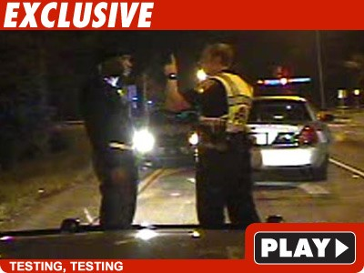 Nas DUI Arrest -- The Woozy Dashcam Footage