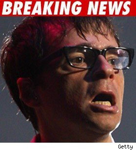 Weezer Lead Singer Banged Up in Bus Crash