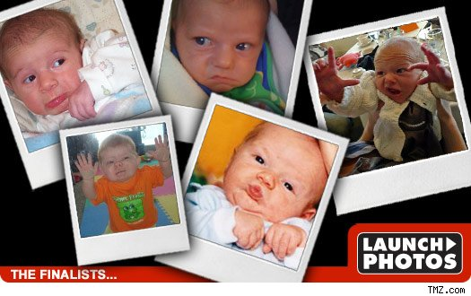TMZ's Funny Baby Face Contest -- Final 5!