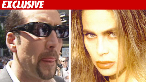 NIcholas Cage and Ex wife Christina fulton