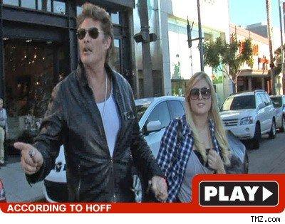 David & Hayley Hasselhoff: Click to watch