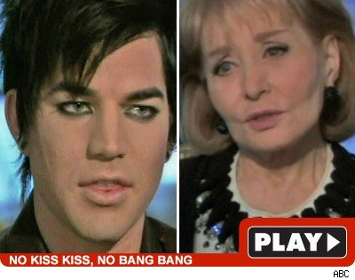 Adam Lambert & Barbara Walters: Click to watch