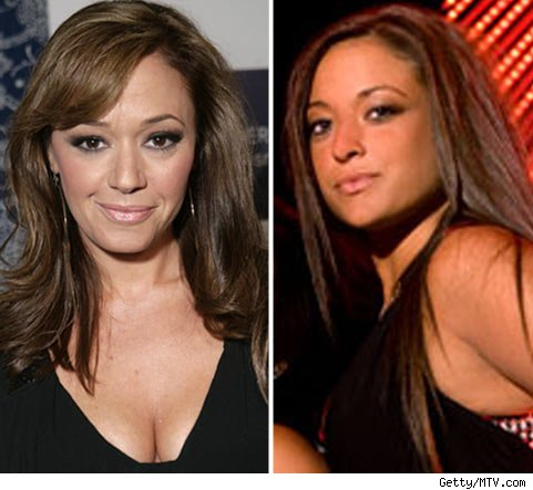 Leah Remini and Sammi Sweetheart