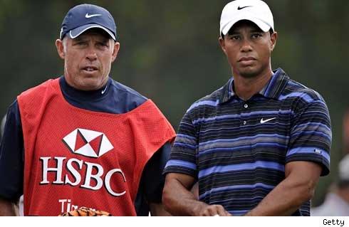 Steve Williams, Tiger Woods