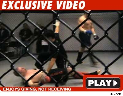 Guy Who KO'd Snooki -- Getting Knocked Out