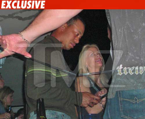 Tiger Woods -- Distracted Husband
