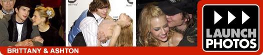 Brittany Murphy & Ashton Kutcher