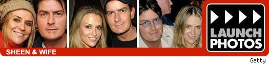 Charlie sheen and wife