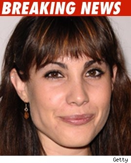 Carly Pope -- former star of the TV show