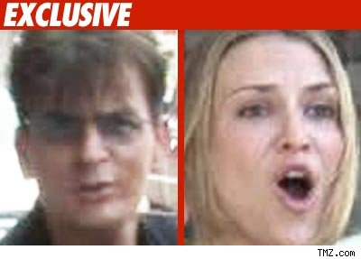 Charlie Sheen, Brooke Mueller
