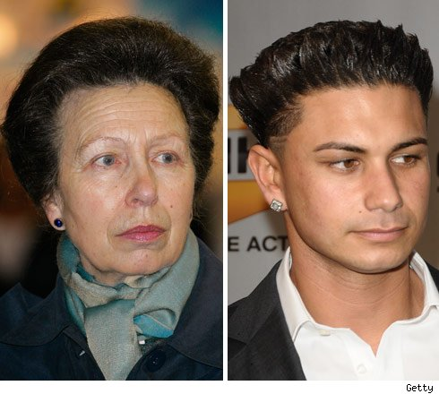 Princess Anne and Pauly D