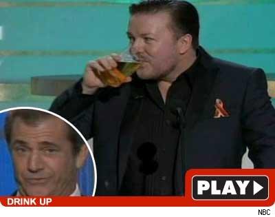 Mel Gibson, Ricky Gervais