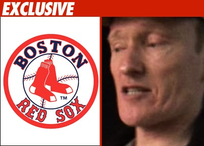 Conan O'Brien and Boston Red Sox