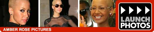 Amber Rose and Kanye West pictures.