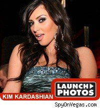 Kim Kardashian party pictures.