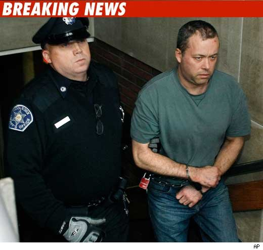 Nancy Kerrigan's Brother with police officer