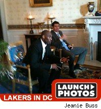Los Angeles Lakers visit Washington DC.