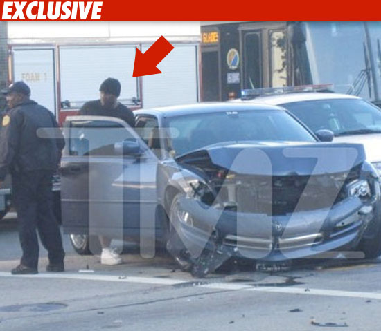 Tyrese Gibson car crash