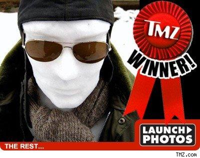 Snowman Contest Winner
