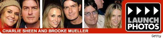 charlie sheen and brooke mueller pics