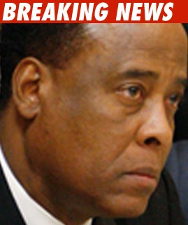 Conrad Murray -- Monday's the Day ... Finally