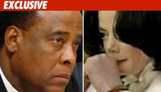 Dr. Conrad Murray and Michael Jackson
