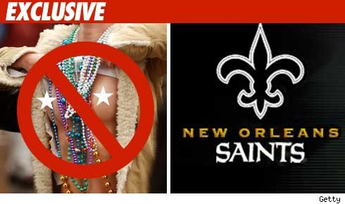 New Orleans Saints and Boobs