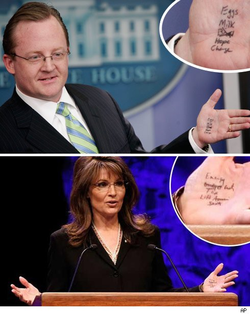 White House Hits Palin with Open Hand Slap