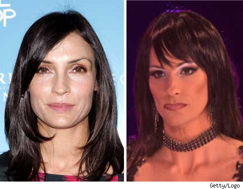 Famke Janssen and Nicole Paige Brooks