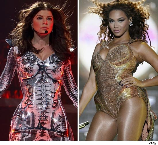 Fergie and Beyonce