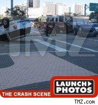 Tyrese Crash Scene