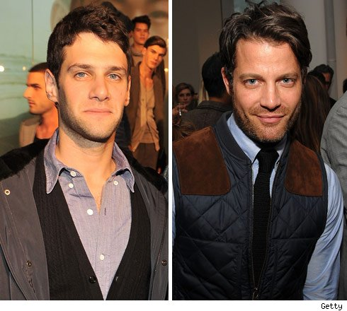 Justin Bartha and Nate Berkus