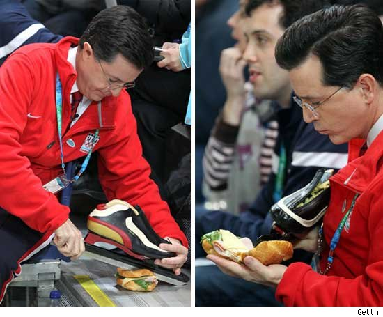 Stephen Colbert's Olympic Lunch -- Cold Cuts