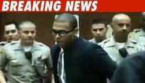 Chris Brown Dresses Down for Court