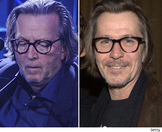 Eric Clapton & Gary Oldman
