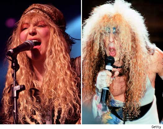 Courtney Love and Dee Snider