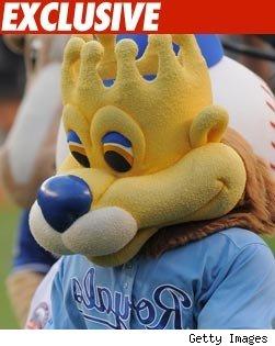 New Royals Mascot -- Expert Wiener Handler