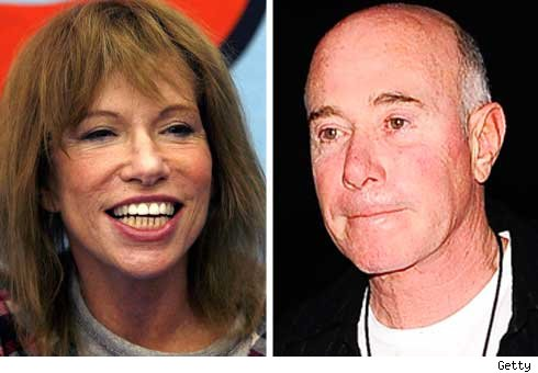 Carly Simon and David Geffen