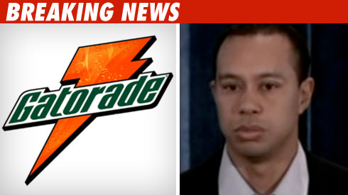 Gatorade to Tiger Woods: See Ya Later, Alligator