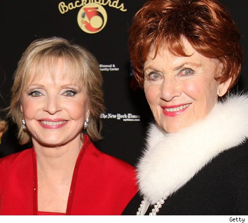 Florence Henderson and Mario Ross