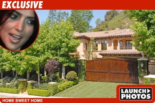 Kim Kardashian New $4.8 Mil Pad