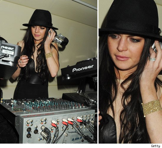 Lindsay Lohan Is Music to Her Ear