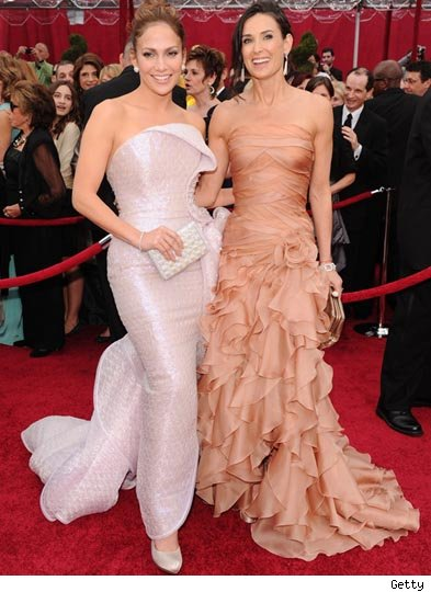 Jennifer Lopez and Demi Moore