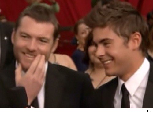 Sam Worthington &amp; Zac Efron
